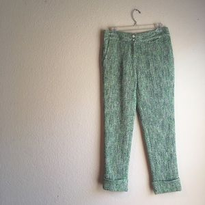 Anthropologie Leifsdottir tweed pants